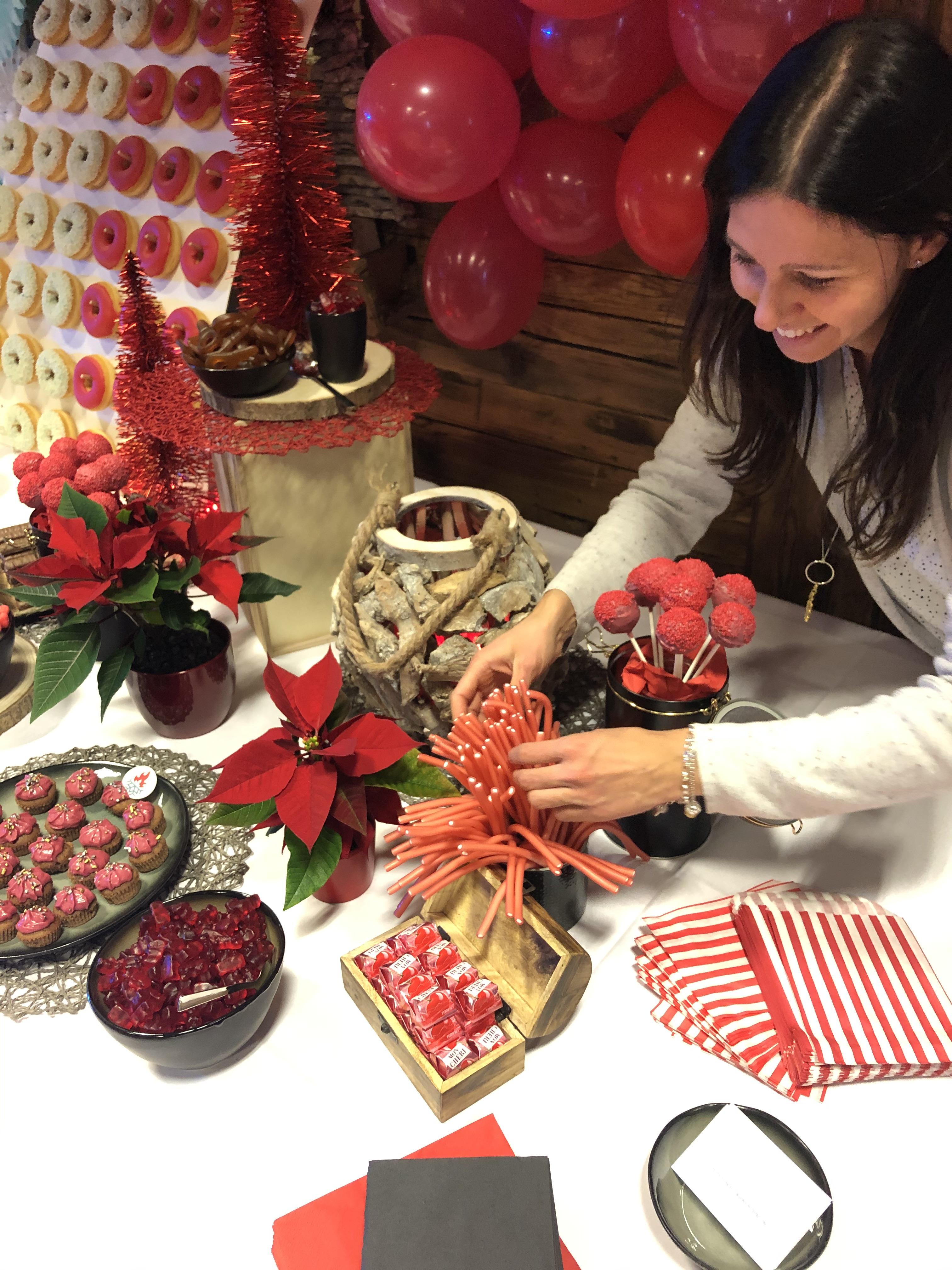 Sweettable und Candybar Fire & Ice - Rent a candybar in Salzburg